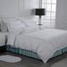 Eliya ISO9001 Luxury 5 Star Quality Stripe White 100 Cotton Linen