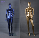 PP eco-friendly plastic female and male mannequin