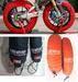 Motorcycle stands, frame slider, tire warmer, fuel cap