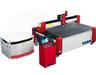 EAAK abrasive cnc water jet cutting machine EK1020 with high pressure
