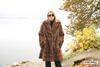 Fur Garments Of Mink Scraps