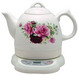 Electric water kettle, Porcelain body with various pattern