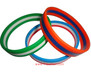 3 LAYERS FLAG COLORS SILICONE BRACELET FOR SPORTS GIFTS