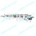 PVC PET PP box folder gluer fully automatic high speed