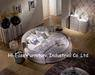 Bedroom furniture leather round bed