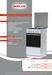 Freestanding gas cookers type METALICA 50x50x85cm or 50x60x85 cm