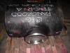Weld overlay cladding pipe flange valve