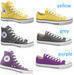Men and women canvas shoes