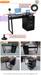 2016 Hotsale Black Glass Computer Desk with File Cabinet RX-D1034B