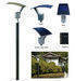 18W Flexible Amorphous Solar Garden Light