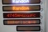 LED display LED sign pixel 7 car display programmable