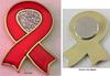 Aids Badges (Ribbon) Magnetic