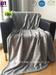 Luminous Star Pattern Soft Polyester Flannel Fleece Blanket
