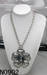 Alloy necklace with antique silver plated from yiwu city