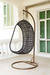 Rattan furniture swing chair