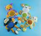 Soft plush pet toys