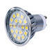 With Glass Cover High Lumen 21pcs Smd 3w Gu10 Led Spotlight Light Bulb