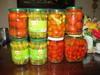 Canned foods Pineapple, gherkin, sweet corn
