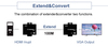 ACAFA HD1000 HDMI Digital Audio/Video extended distance up to 100M