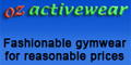OZ Activewear: Seller of: gymwear, sportswear, activewear, bikini, string bikini, mp3 sunglasses, pedometer, sports watch, stop watch.