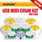 Konix(Hk)Technology Co., Ltd.: Seller of: roll uo piano, roll up drum kit, usb guitar link cable.