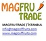 Magfru Trade Foreign Trade: Seller of: dried fruits, dried apricots dried figs dried raisins, pulsepea red lentils and green lentils pinto beans semolina, olive oil virgin olive oilextra virgin olive oil, baby clothes womens underwearwomen sexy bustier, bath towel soft bath towelhigh quality organic cotton face towel, designed pillowsbedspreadsshirts, lady cotton design socksboy fancy socksbaby function sock men busin.