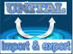 Unital for Import & Export: Seller of: beet molasses, crude salt, fodder beet, onions potattoes oranges fruitvegetables, phosphata, rice, salt washed, silica sand, sugar cane molasses. Buyer of: barley, bran, clothes, corn, oils, scrap iron, soybean, sugar, wheat.
