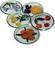Art Rayen: Seller of: coasters, wooden trays, cocktail boards, wicker trays, magnets, key holders.