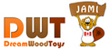 Dream Wood Toys: Seller of: wooden toys, sitting wooden figures, pencil holders, wooden figures on spring, wooden cars and trains, pull-along wooden animals, money banks, keychains, wooden blocks.