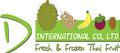 D International Co., Ltd.: Seller of: fresh vegetable, dried vegetable, fresh thai herbs, fresh thai fruit, frozen thai fruit, durian, mangosteen, rambutan, mango. Buyer of: contactd-thaifruitcom.