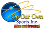 On Our Own Sports: Seller of: football uniforms, cheerleading uniforms, basketball uniforms, baseball uniforms, helmets, hats, shoulder pads, uniform shoes, pompoms. Buyer of: jerseys, pants, belts, pads, helmets, shorts, cheerleading uniforms, polo shirts, socks.
