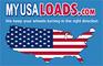 MyUSALoads: Seller of: freight matching service, cheap truck shipping. Buyer of: cheap truck shipping, freight matching service.