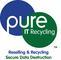 Pure IT Recycling Ltd: Seller of: refurbished pc, refurbished laptop, used pc, used laptop, refurbished pcs, refurbished laptops, used pcs, used laptops, refurbished monitor. Buyer of: hard drives, hard drive, ram, ddr, ddr 2, ddr2, sata, ide.
