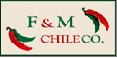 F & M Chile Company: Regular Seller, Supplier of: chili peppers, chili pods, chile california, chile new mexico, chili guajillo, chile ancho, paprika. Buyer, Regular Buyer of: chili pods, chili guajillo, chile california, chili ancho, chili new mexico, paprika.