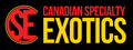 Canadian Specialty Exotics Ltd.: Seller of: animals, feeders, enclosures, equipment, supplies, educational shows, birthday parties, delivery. Buyer of: animals, feeders, enclosures, equipment, supplies.