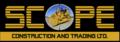 Scope Construction and Trading, Ltd.: Seller of: caterpillar, cat, komatsu, spare parts, graders, dozers, excavators, atlas copco, cranes.