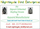 Nightingale Bird Enterprise: Seller of: jeans, pants, trousers, shorts, tops, t-shirt, polo shirt, sweater.
