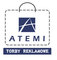 Atemi. Shopping bags: Seller of: paper bags, plastic bags, paper boxes, shopping bags, promotional bags, paper packaging, promotional packaging, gift boxes.