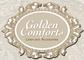 Golden Comforts Linen and Accessories: Seller of: linen, pillows, kiddies linen, pewter, sheets, egyptian cotton, laminated bags, duvets, faux fur. Buyer of: linen, hotel blankets, kiddies coolers, microfibre pillows, laminated bags, towels, percale.