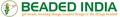 Beaded India: Seller of: leather cords, semi precious stone, wood beads, metal beads, cotton wax cords, gemstone, silver beads, rudraksha beads, rosary mala jewelry.
