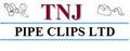 TNJ Pipe Clips Ltd: Regular Seller, Supplier of: pipe clips, pipe brackets, pipe fixings, munsen rings, screw on brackets, backplates, single rings, school board clips, skirting board clips.