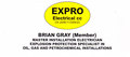 Expro Electrical cc: Seller of: electrical, inspection, certification, installation, cables, glands, motors, fittings, exd exe exn. Buyer of: cables, glands, junction boxes, motors, lights, control station, panels, sockets, fittings.