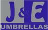 J&E Umbrellas: Seller of: dvertising umbrellas, garden umbrellas, sun umbrellas, rain umbrellas, advertising flags, promotional umbrellas, garden furniture, garden parassols, walking sticks.